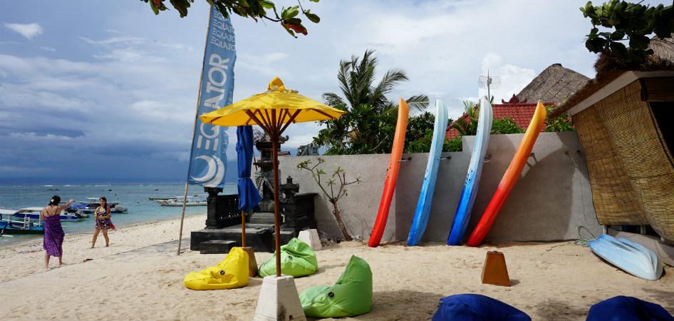 water sport activities in lembongan