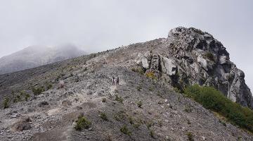 climb merapi volcano java
