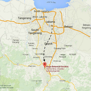 map bogor Discover Your Indonesia