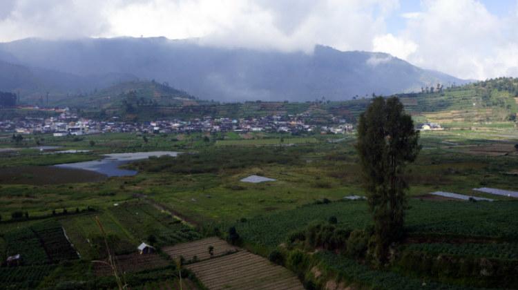 around Dieng Indonesia