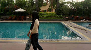swimming pool of gallery prawirotaman hotel