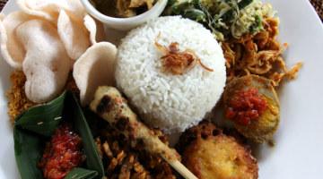 Indonesia Food - nasi campur Bali