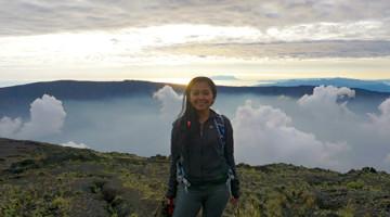 tambora crater indonesia