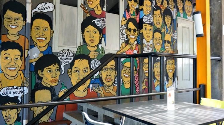 Kedai kebun forum KKF Jogjakarta