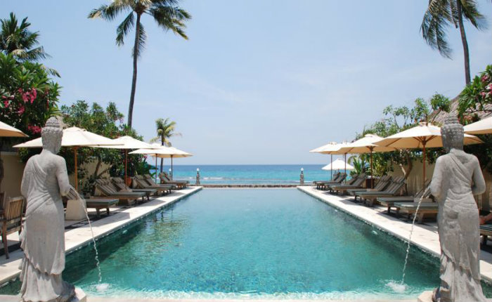Puri Mas Boutique Resort Spa Kuta Lombok Swimming Pool Discover Your Indonesia