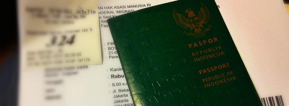 How to do Online Indonesian Passport Application - Discover