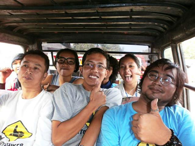 Hitchhiker Indonesia fun