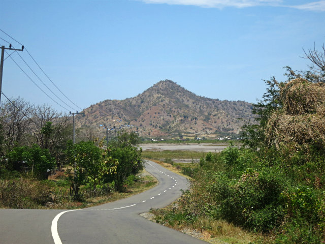 road in sumbawa