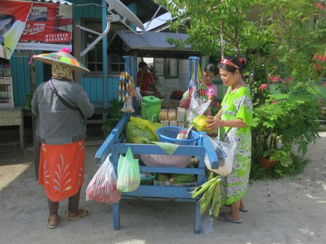 locals in derawan