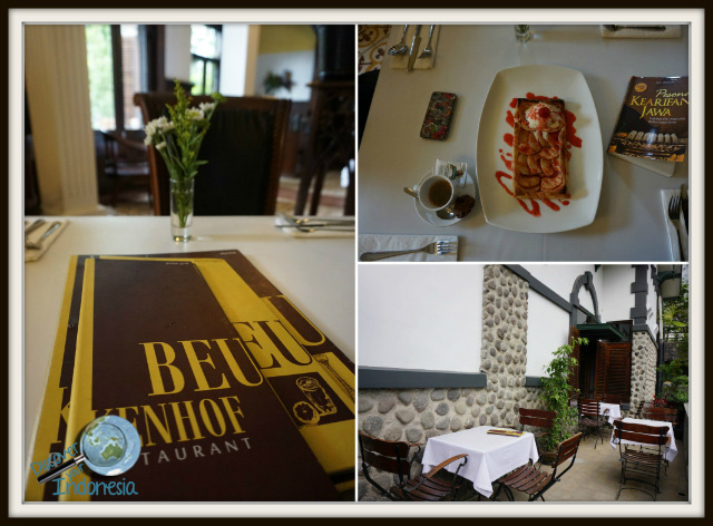 Beukenhof Restaurant ullen sentalu Yogyakarta