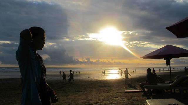 Seminyak beach Bali