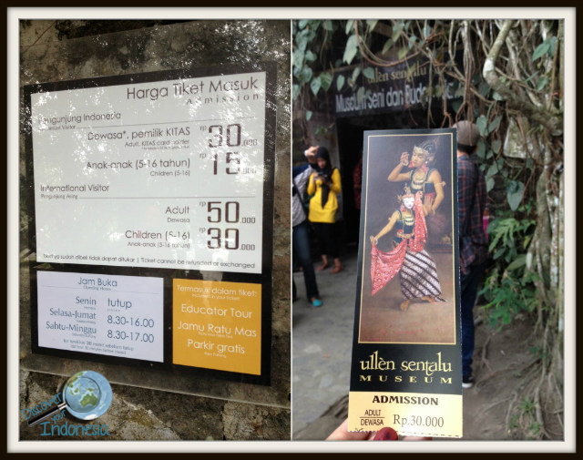 ullen sentalu opening hours and ticket price