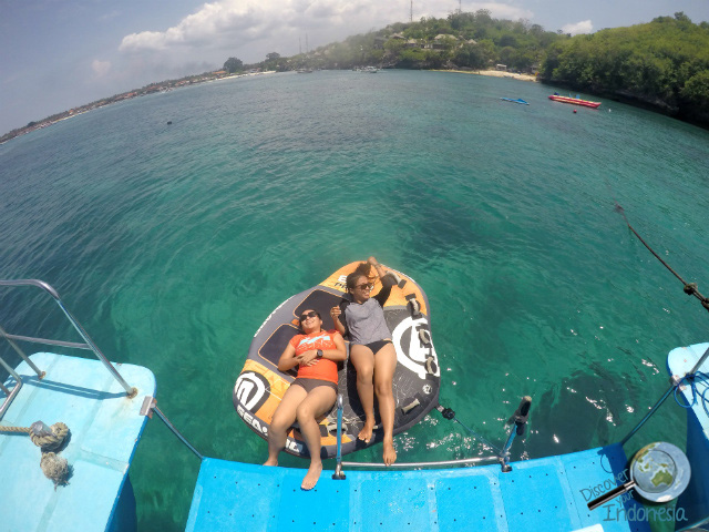 Mumun and Firsta at Lembongan