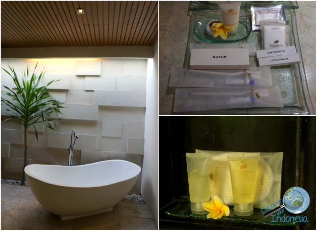 bathroom of Kunti Villas