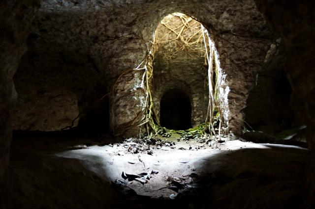rooms underground house of Nusa Lembongan