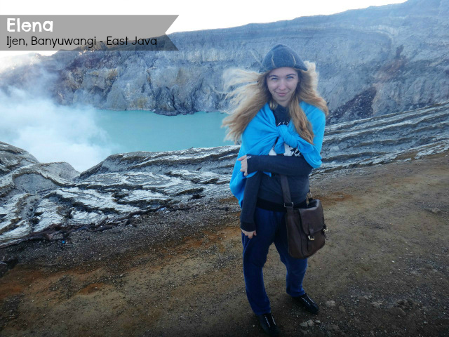 Elena at Ijen East Java