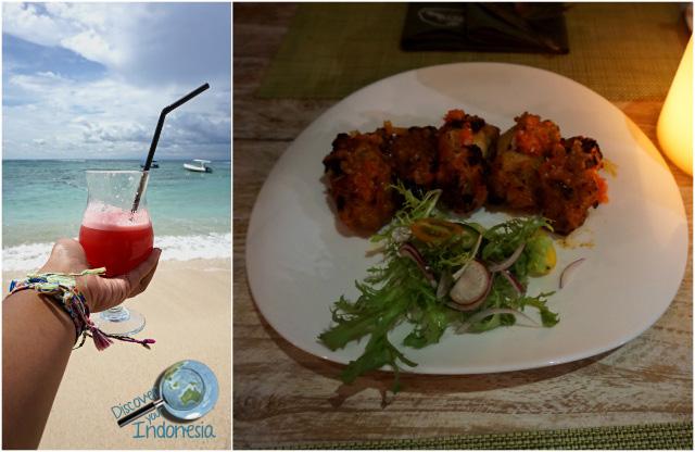 food drinks at lembongan beach club
