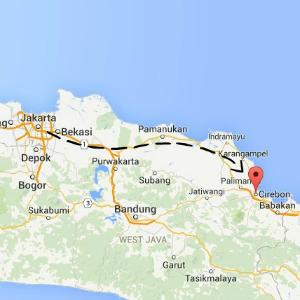 map Cirebon