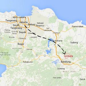 map Lembang