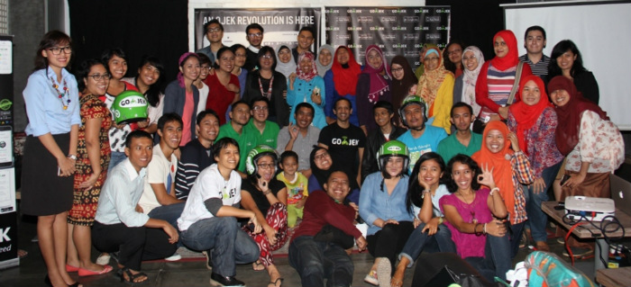 Bloggers gathering with Gojek Jakarta transportation