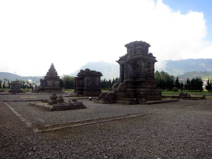 Arjuna temple complex Dieng