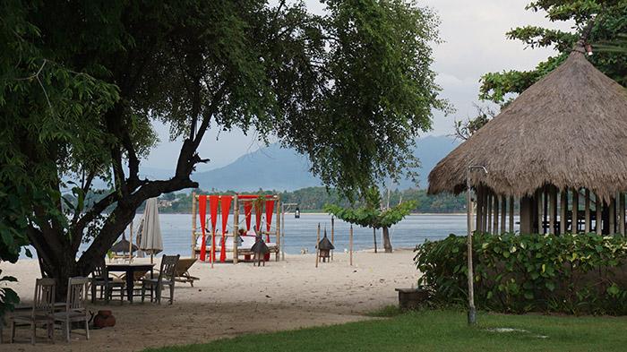 Sire Beach from Tugu Hotel