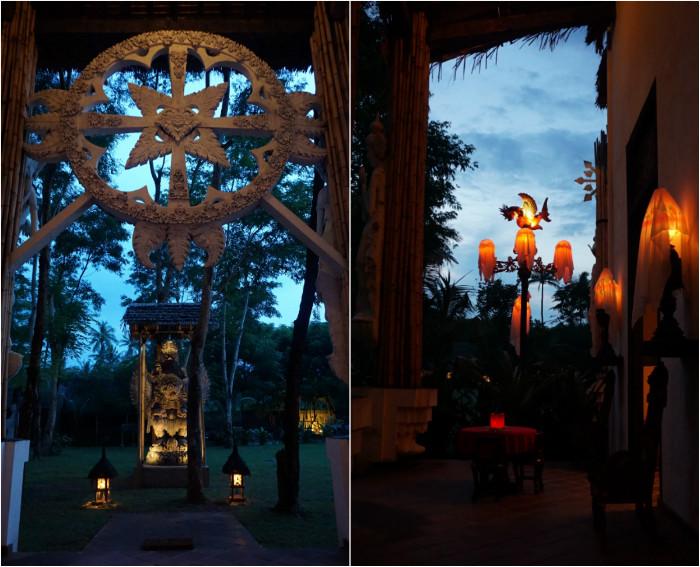 Decoration in Gedong Gandrung Lombok