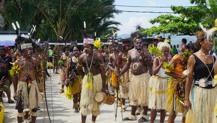 Get ready to dance at Lake Sentani Festival