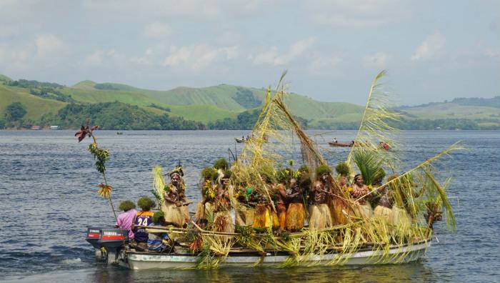 isolo lake sentani festival