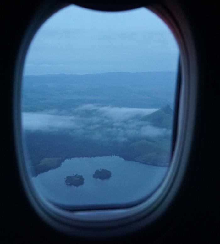 lake sentani from above