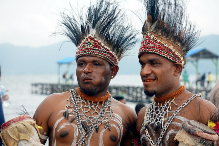 sentani festival indonesia