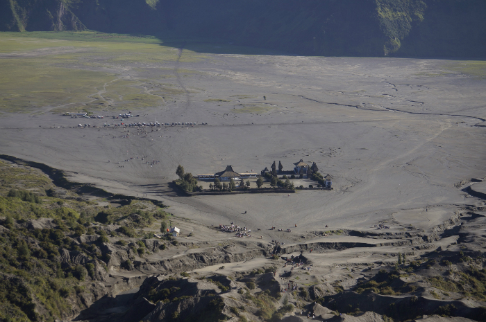 top of Bromo crater