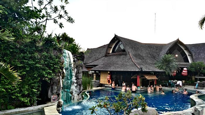 Pool of Hotel Lumbung Seminyak