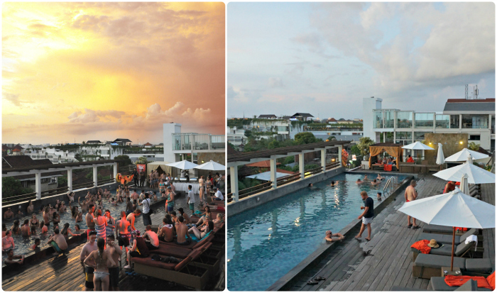 Skypool Party at The ONE Legian
