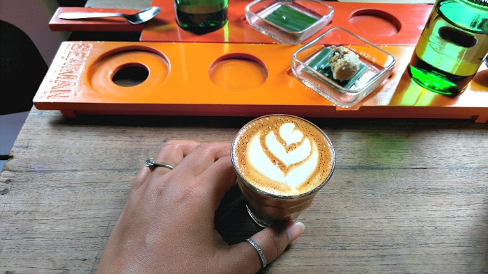 Coffee at Seniman Coffee Studio