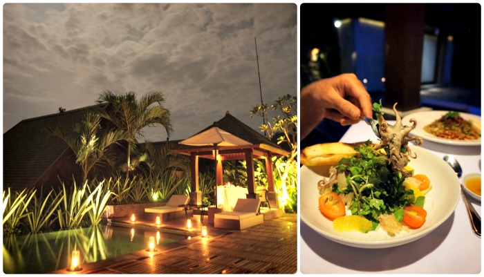 Romantic Dinner at The Sanctoo Villa Ubud Bali