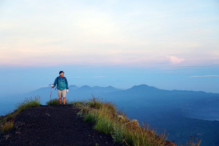 Preparing to climb Mt Agung, Mount Agung, Bali