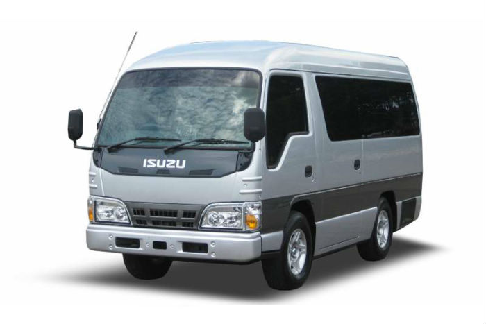 Isuzu Short Elf Rental