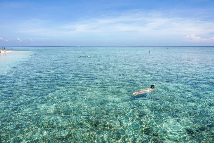 Snorkeling at Kondingareng Keke island