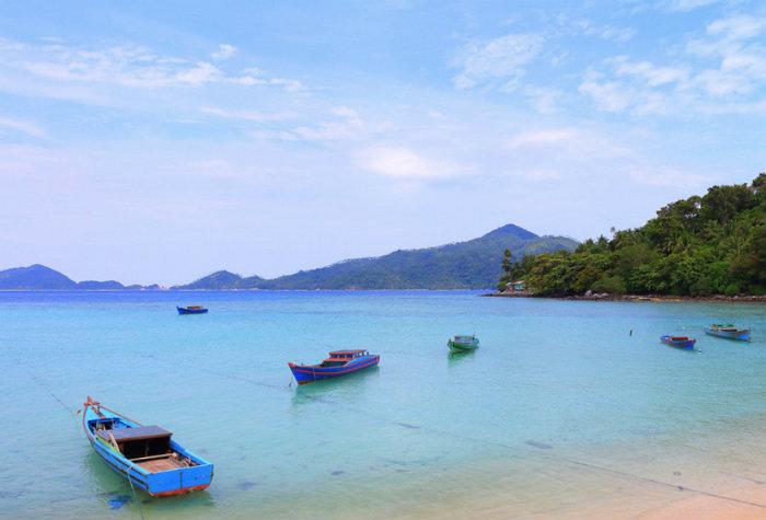 The Anambas archipelago.