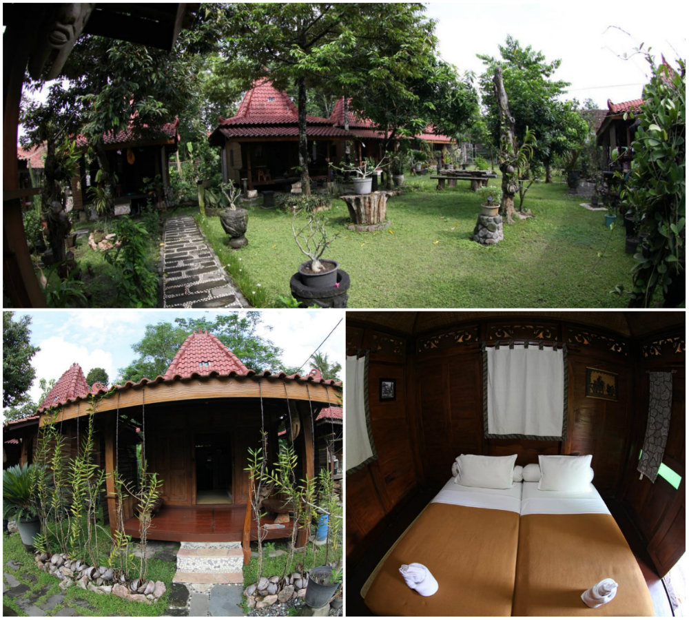 accomodations near borobudur