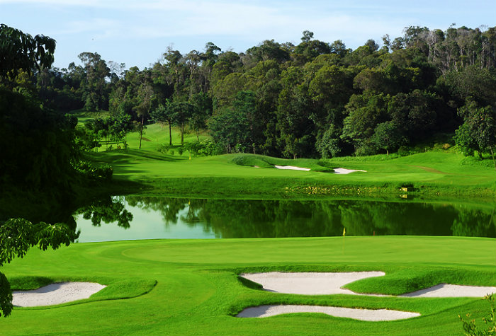 Ria Bintan Golf Course close to Batam.