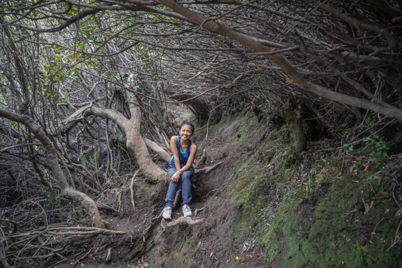 Kerinci volcano hiking route