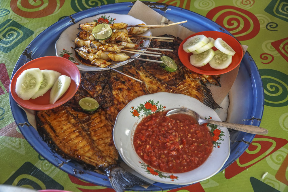 what to eat in lombok