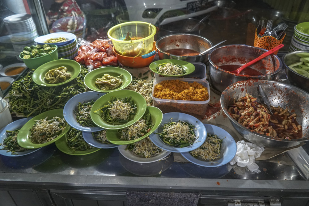 tasty food from Lombok