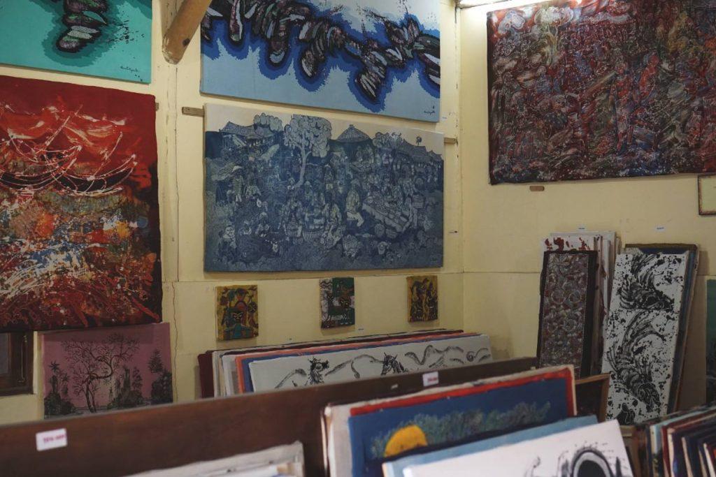 Batik gallery and Batik paintings