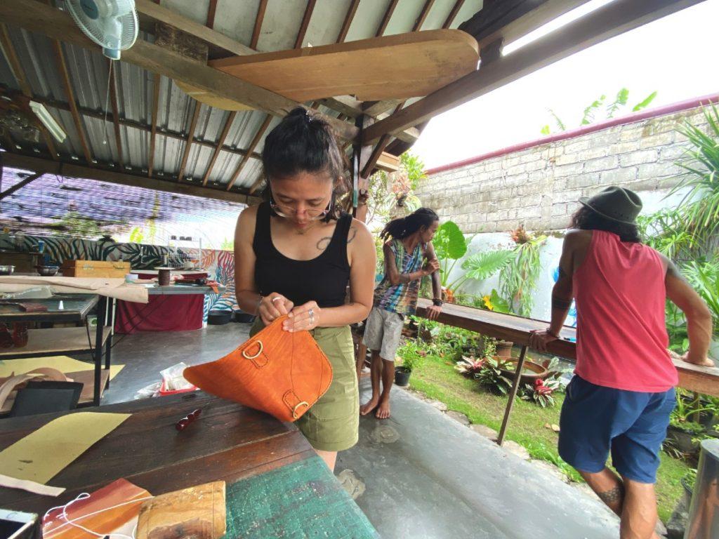 Leather workshop Yogyakarta