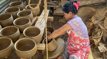 klaten pottery